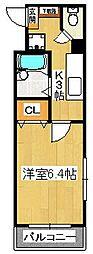GLANZ A(グランツアー)[3階]の間取り