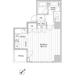 ドゥーエ向島II[0303号室]の間取り