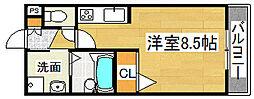 メゾンラフィネ[1階]の間取り