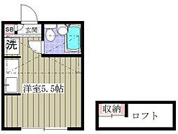 my plan H[102号室号室]の間取り