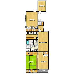 目白欅マンション[3階]の間取り