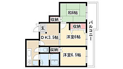愛知県名古屋市南区中割町4丁目の賃貸アパートの間取り