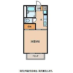 エースマンション[1階]の間取り