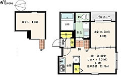 Prime Maison K(プライムメゾンケー)[2階]の間取り