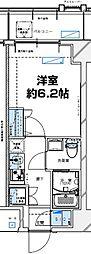 レジデンツア西神奈川[102号室]の間取り