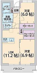 トトローネ[2階]の間取り