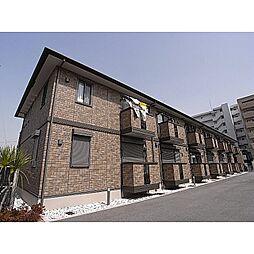 奈良県奈良市青野町の賃貸アパートの外観