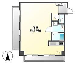 ナビシティ徳川I[3階]の間取り