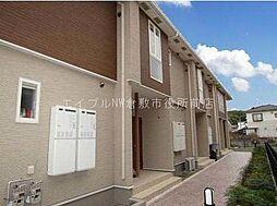 岡山県倉敷市玉島勇崎丁目なしの賃貸アパートの外観
