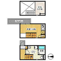 Sumitai栄生[1階]の間取り