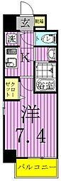Apartment桜(アパートメント桜)[403号室]の間取り