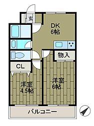 ワンソレイユ新百合ヶ丘[3階]の間取り