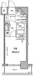 Le'a横濱中央[304号室]の間取り