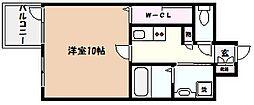 芦屋レグノ[4階]の間取り