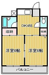 タイコー1924[3階]の間取り