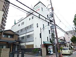 大阪府大阪市東住吉区南田辺4丁目の賃貸マンションの外観