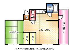 二井野ビル[2階]の間取り
