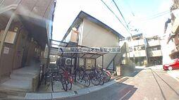 大阪府東大阪市近江堂1丁目の賃貸アパートの外観