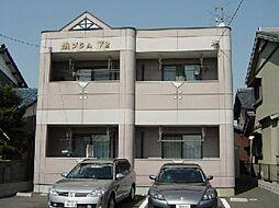 愛知県一宮市萩原町河田方字中道の賃貸アパートの外観
