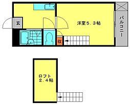 メルティングホーム1[101号室]の間取り
