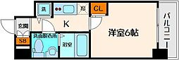エスリード大阪城[9階]の間取り