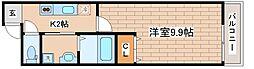 兵庫県神戸市東灘区深江南町2丁目の賃貸アパートの間取り