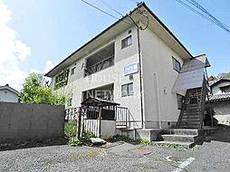 京都府京都市左京区岩倉木野町の賃貸アパートの外観