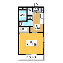 仮)久保田町 Mマンション[3階]の間取り