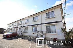 愛知県豊田市丸根町3丁目の賃貸アパートの外観