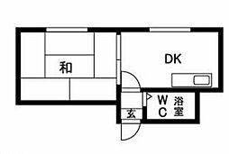 西18丁目駅 2.1万円
