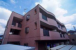 埼玉県草加市新栄1丁目の賃貸マンションの外観
