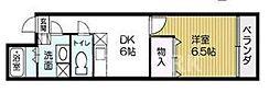 サンシャイン烏丸[5-E号室号室]の間取り