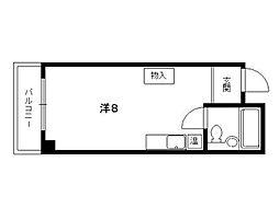 東海ハウス[2階]の間取り