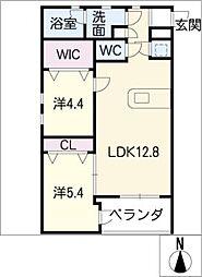 SK'BUILDING−9S棟[1階]の間取り