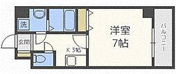 AQUA GALAXY(アクアギャラクシィ) 10階1Kの間取り
