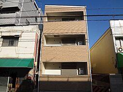 大阪府守口市淀江町の賃貸アパートの外観