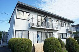 福岡県古賀市天神7丁目の賃貸アパートの外観