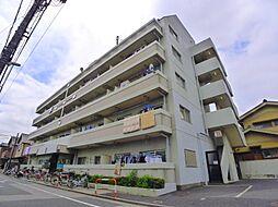 東京都足立区竹ノ塚3丁目の賃貸マンションの外観