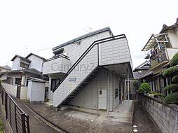 兵庫県宝塚市小林1丁目の賃貸アパートの外観