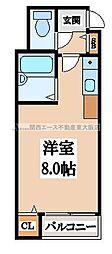 CTビュー小阪[5階]の間取り