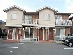 岡山県岡山市東区西大寺浜丁目なしの賃貸アパートの外観