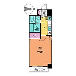プロシード新栄[9階]の間取り