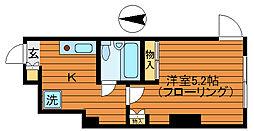 東京都杉並区西荻北4丁目の賃貸マンションの間取り