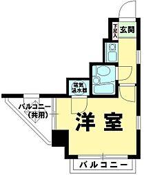 ライオンズマンション西五反田第2[9階]の間取り