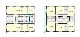 2世帯住宅参考プラン