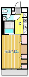 (仮称)西八王子新築アパート[101号室]の間取り