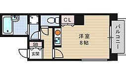 I Cubu 阿波座[8階]の間取り