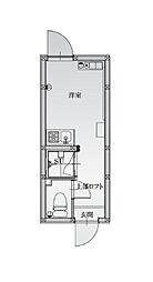 トレカーサ豊島園[2階]の間取り