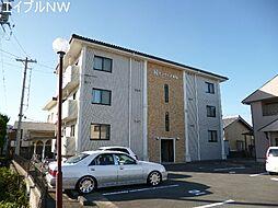 三重県多気郡明和町大字明星の賃貸マンションの外観