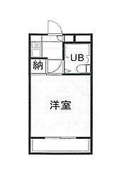 ランドフォレスト松戸[3階]の間取り